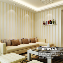 цена на Simple Modern Stripes Non-woven Wallpaper Stereo Flocking Wallpaper Wallpaper Background Warm Bedroom Living Room