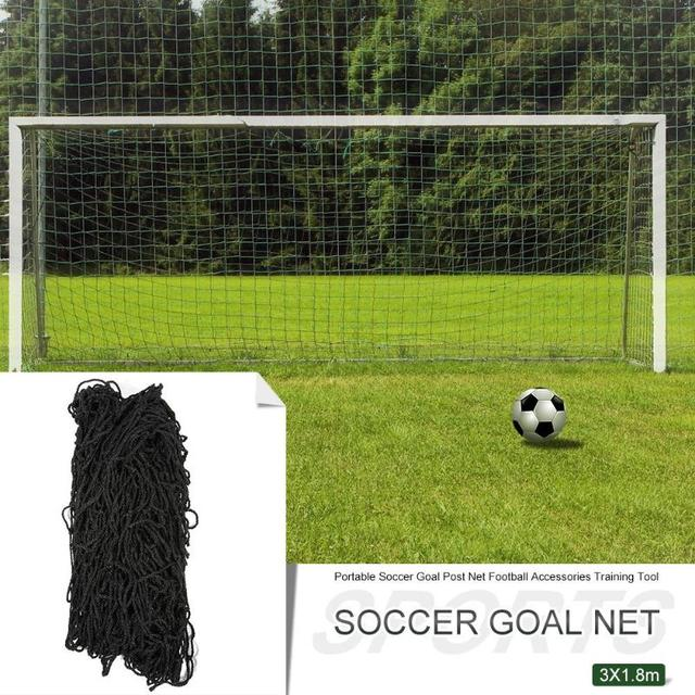 Portable Soccer Goal Post Net 3X1.8M Football Accessories Outdoor Sports Training Tool Gift Football Sport Tools