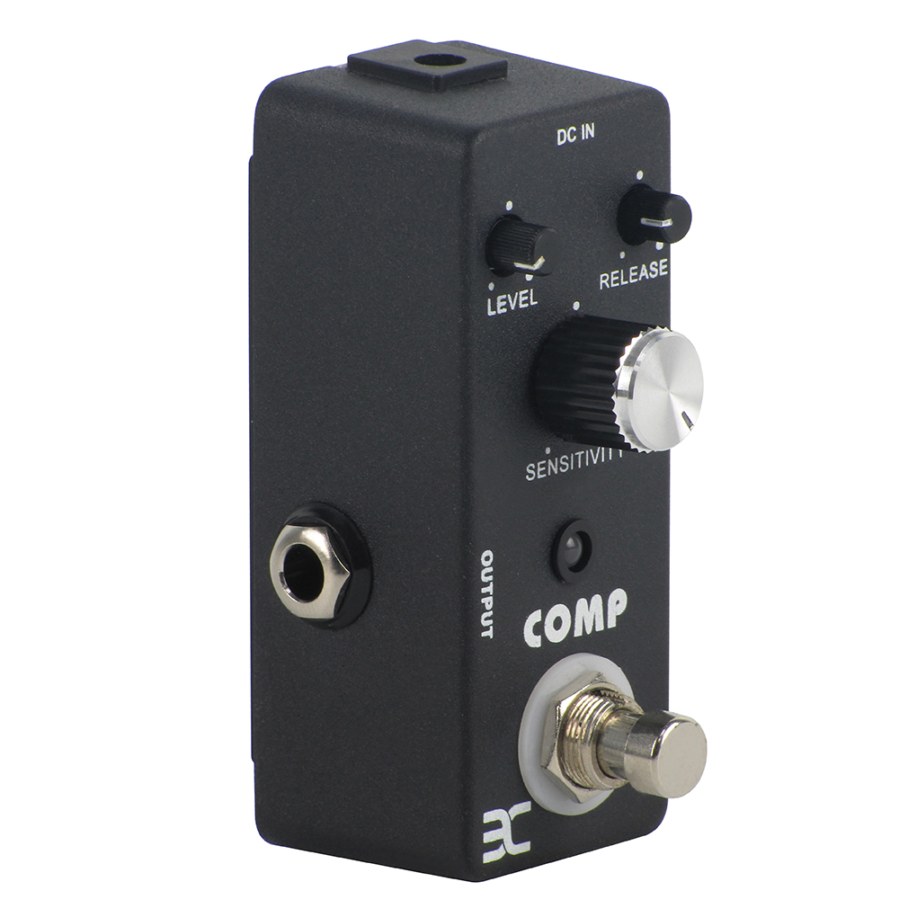 new mini compressor effect pedal true bypass guitar effect pedal comp in guitar parts. Black Bedroom Furniture Sets. Home Design Ideas
