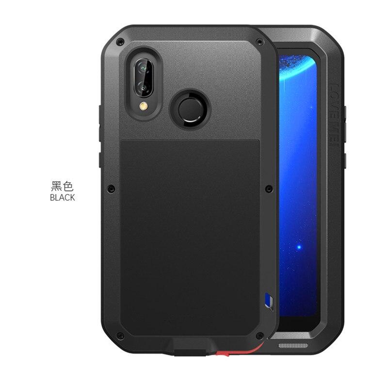 Huawei P20 Lite armure métal antichoc étui pour Huawei Nova 3E aluminium vie couverture étanche pour Huawei P20Lite ANE LX1 LX3
