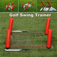 Golf Speed Swing Base Trainer Training Aids Base 4 Rods Swing for Outdoor Indoor Golf Hitting Practice Tool Golf Swing Trainer