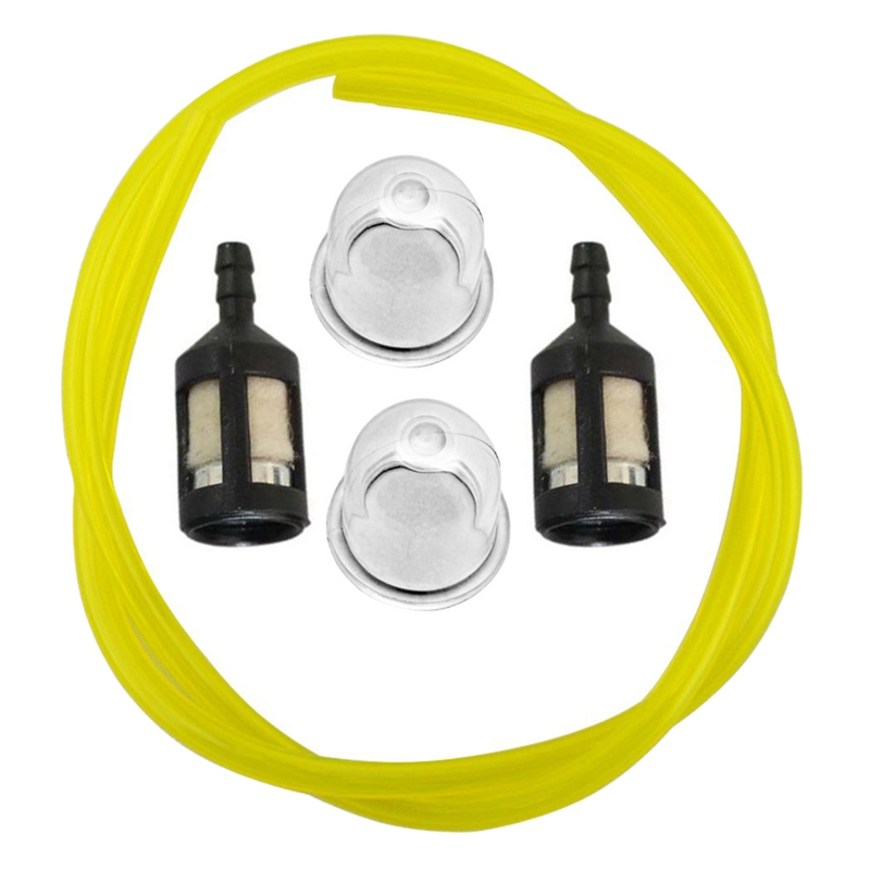 Primerbulb Bulb + Fuel Filter + Fue Line For Homelite Bp250 Hb180 Hb18V Gst Gst18 Gstbc Hbc18 Hbc30 Hbc30B Hgt Hlt15 Hlt16 St2