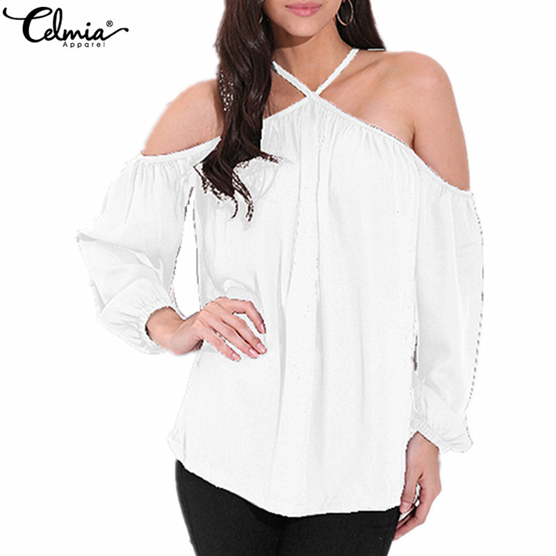 Gwirpte Off Shoulder Lace Up Summer Shirts Lantern Sleeve Women Hollow Out Blouse Sexy Holiday Blusas Ladies Camisa Blusa High Quality And Inexpensive Women's Clothing