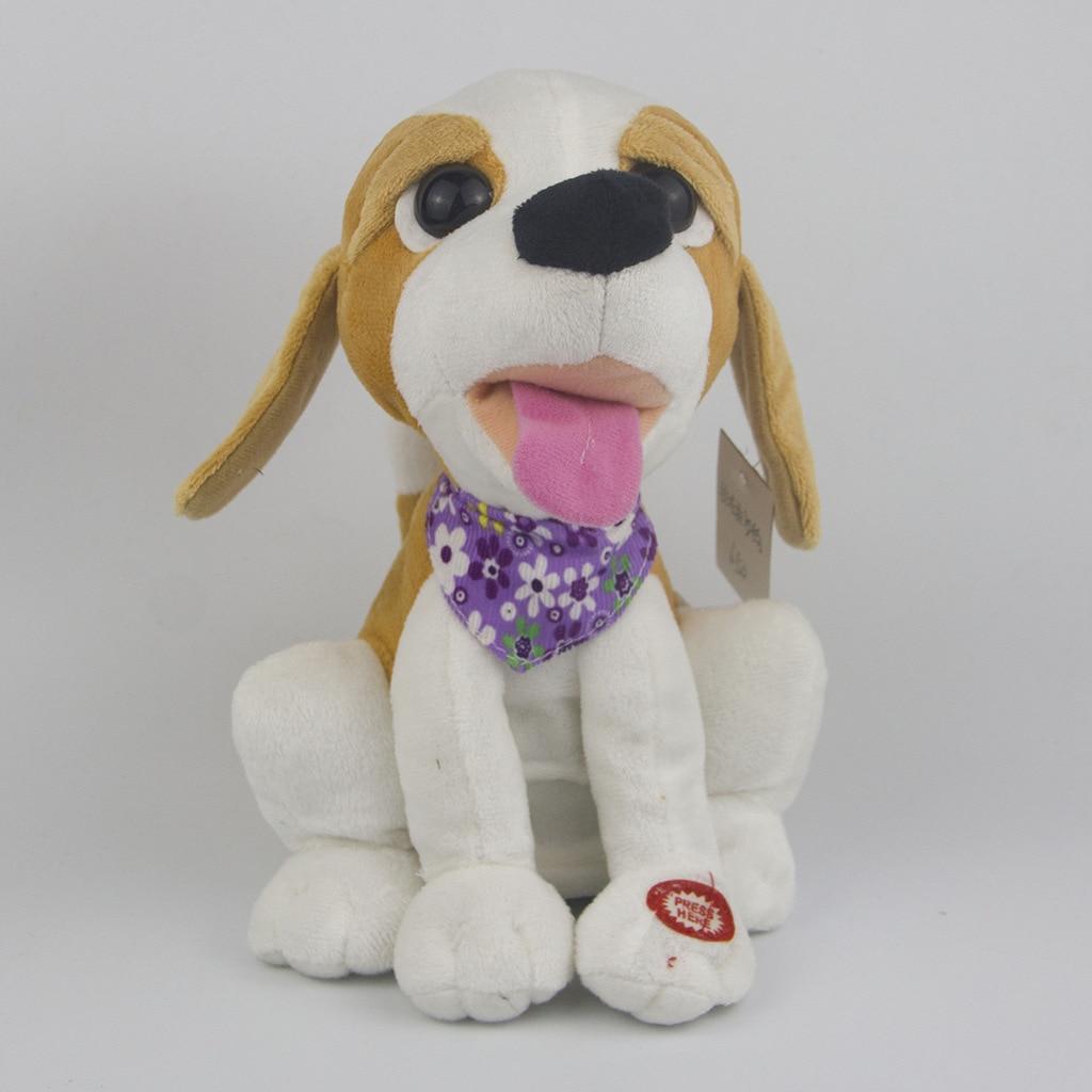 Robot Dog Electronic Dog Toys Plush Pet Music Dog Toy Singing Funny Toys For Children Birthday Gifts