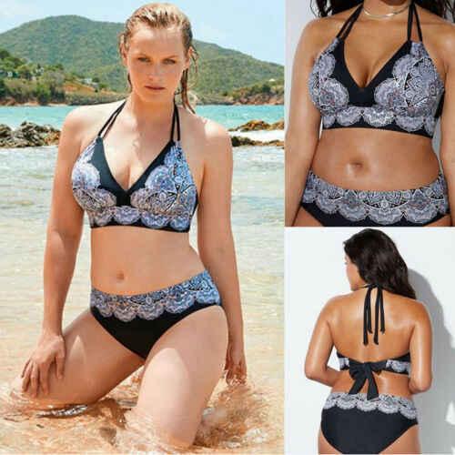 新しい女性プラスサイズ 2 女性の衣服セットエレガントな水着プッシュアップ水着ブラジャースーツ XL-5XL セクシーなレースの服ホットセット
