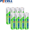 8Pcs*PKCELL AAA 850mAh batteries 1.2V NIMH AAA Rechargeable Batteries NI-MH LSD Pre-charged Up to 1000mAh for game flashlight