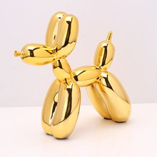 Abstract Art Balloons Dog Statue Animal Dogs Resin Craftwork