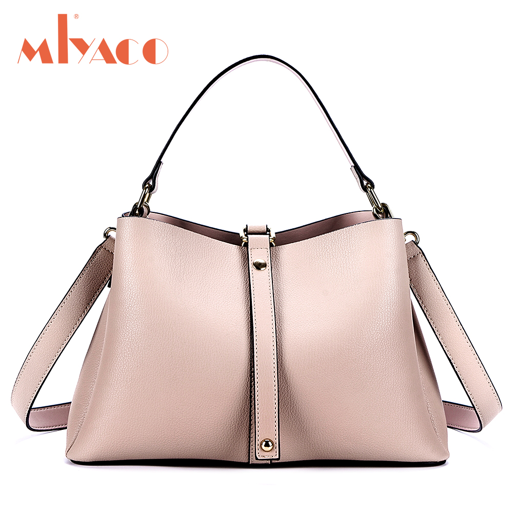 MIYACO Casual Women Bag Cow Leather Handbags Female Top hand bag Messenger bag Fashion Lady Leather Shopping bags MIYACO Casual Women Bag Cow Leather Handbags Female Top hand bag Messenger bag Fashion Lady Leather Shopping bags