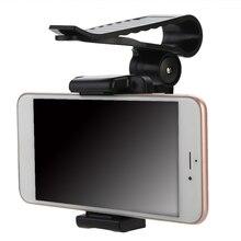 Mayitr 1Pc Car Sun Visor Clip Mount Holder Stand Bracket Auto Universal Adjustable For CellPhone GPS