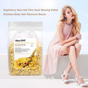 Image 3 - 500G/1000gขี้ผึ้งDepilatoryขี้ผึ้งร้อนฟิล์มWaxing Beanเม็ดไม่มีแถบBody Faceบิกินี่ผู้หญิงhair Removal Beanเครื่องมือ