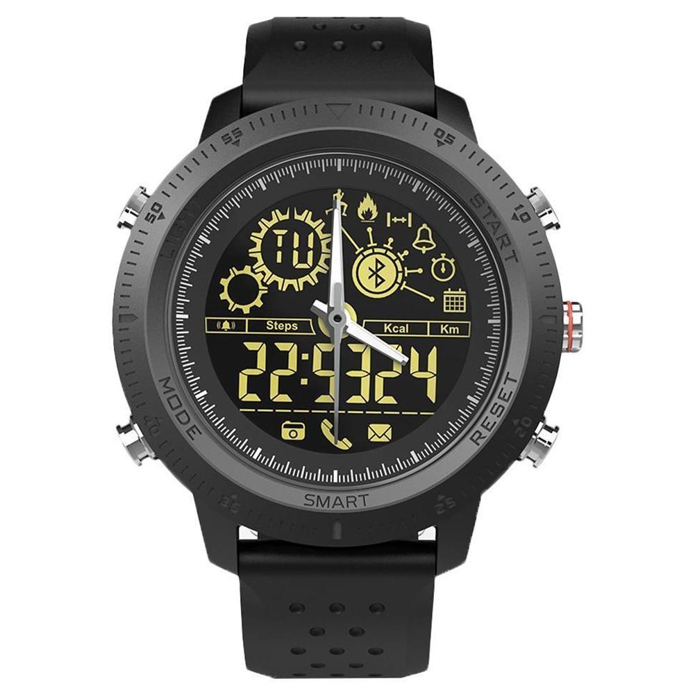 Full-nx02 Sport Horloge Slimme Armband Fitness Tracker Monitor Mode Pols Band Yu
