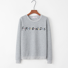 Friends TV Show Gift hoodies 2018 new Harajuku letter printing Summer Top Fashion