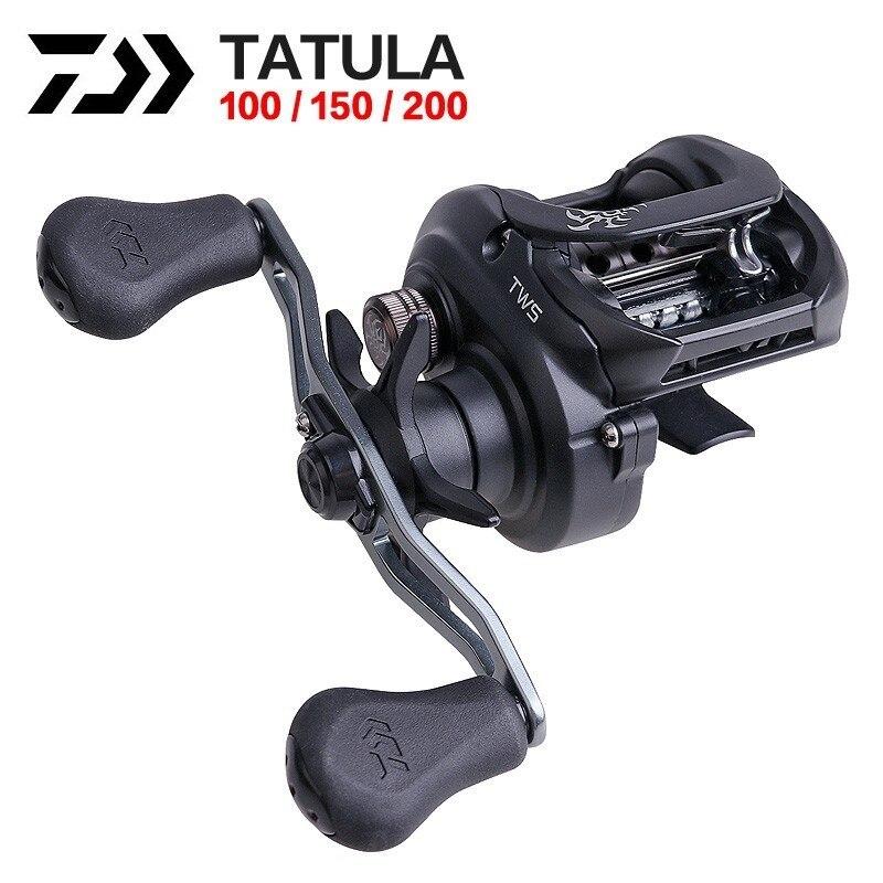 19 Daiwa date Original Tatula Baitcasting bobine 100 150 200 5 kg 7BB + 1RB profil bas pêche bobine de moulage