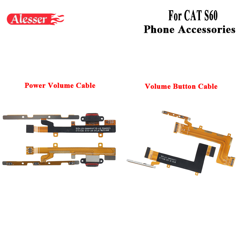 Alesser For CAT S60 Power Volume Cable Assembly Fixing Part Replacement Accessories For CAT S60 Volume Key Up Down Button FPCAlesser For CAT S60 Power Volume Cable Assembly Fixing Part Replacement Accessories For CAT S60 Volume Key Up Down Button FPC