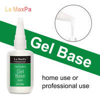 LaMaxPa refill base gel liquid 56g without lamp cure quickly easy dry refill base top activator dip gel liquid nail salon