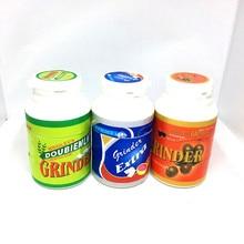 Hot Sale Herb Grinder Chewing Gum Creative Plastic Grinding Machine Diameter 45MM for Hookah Water Pipe Glass