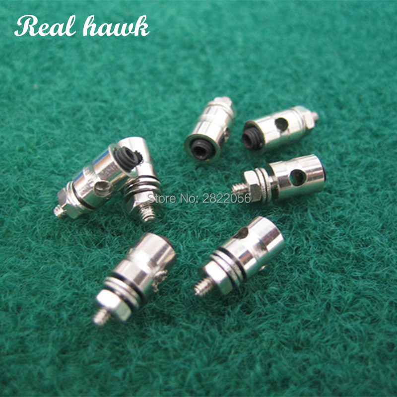 20pcs Pushrod Connectors Linkage Stoppers D1.3/1.8/2.1mm RC Model airPlane Parts Replacement Remote Control Toysl image