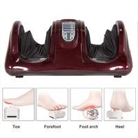 Electric Heating Foot Body Massager Shiatsu Kneading Roller Vibrator Machine Reflexology Calf Leg Pain Relief Relax ABS Machine