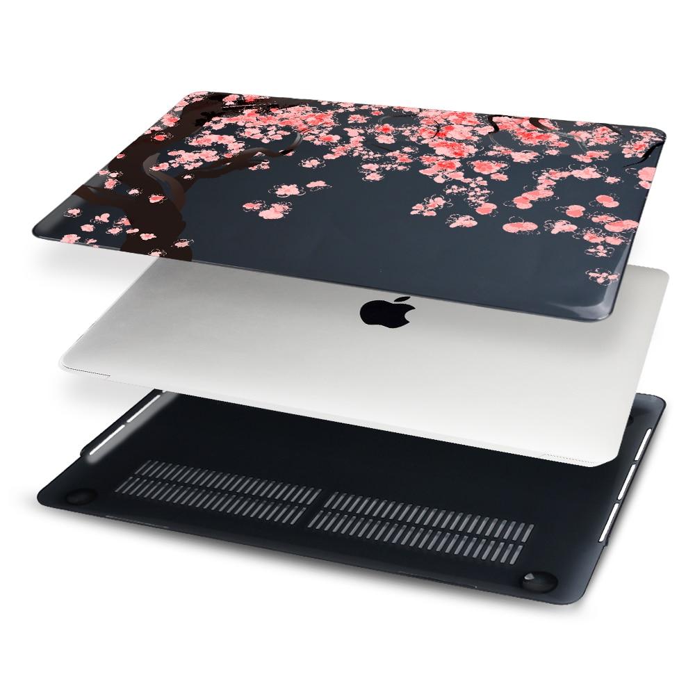 Cherry Blossom MacBook Air үшін қағазды басып - Ноутбуктердің аксессуарлары - фото 3