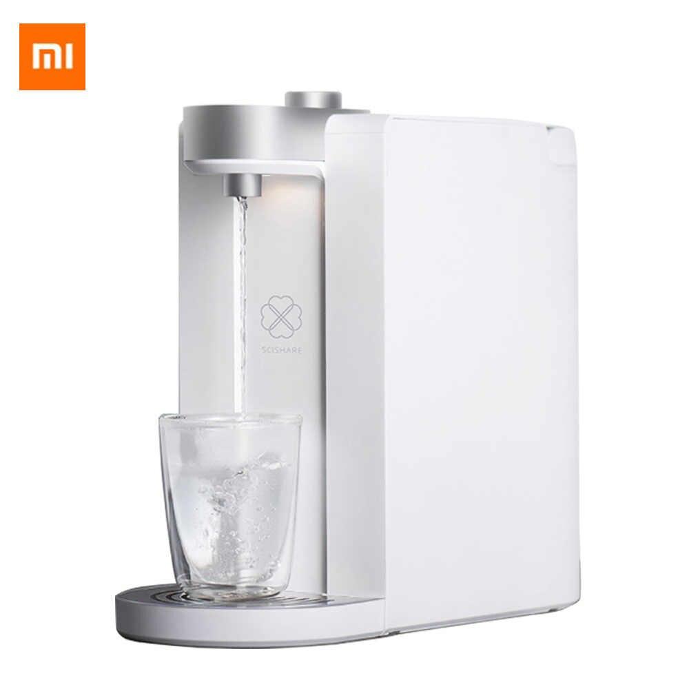 Xiaomi SCISHARE умный нагрев воды 3 секунды воды Портативный питьевой фонтан приложение управление настраиваемая температура 1800 мл