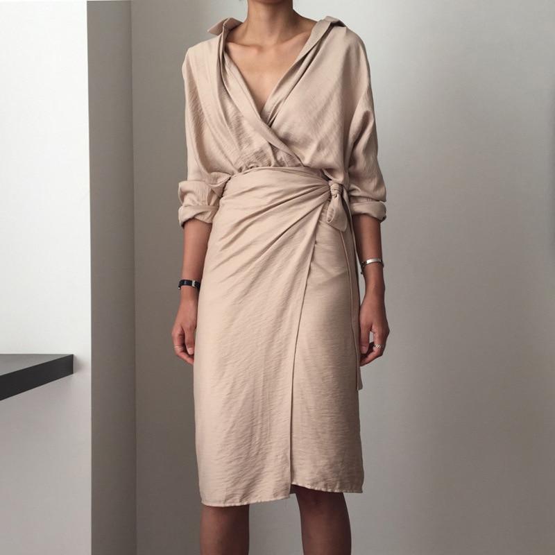 ce5b40ea4e3fd US $4.84 Feiong 2019 Dress Women Vestidos Verano Women Sleeveless V ...