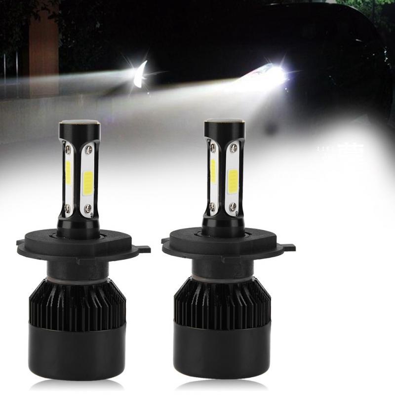 Impartial 2pcs H4 Led 36w 8000lm Headlight Car Hi/lo Beam Auto Bulbs 6000k Car Led Headlight Bulbs Car Light Auto Accessories Automobiles & Motorcycles Car Headlight Bulbs(led)