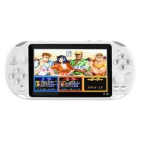 5.1 inch Handheld Game Video Player Game Consoles with Double Rocker Built in 2500 Games Support TF Card