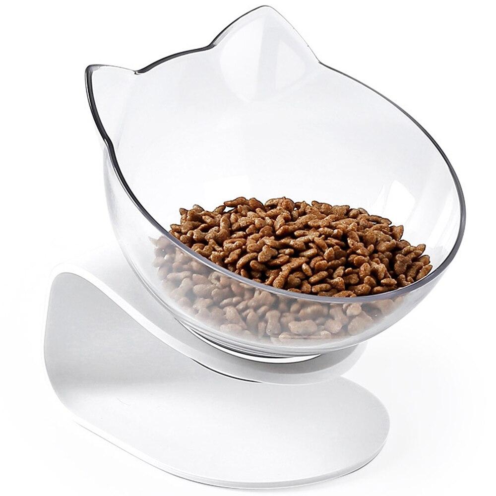 Non-slip Cat Shaped Feeding Bowl  My Pet World Store