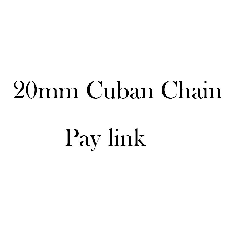 20mm Cuban Chain Pay Link20mm Cuban Chain Pay Link