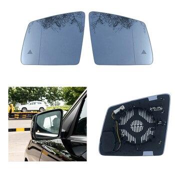 Sostituzione Bianco Sinistra Destra Riscaldata Ala Posteriore Specchio Di Vetro Per Mercedes-Benz GL ML Classe GLE W164 W166 2010 -2018