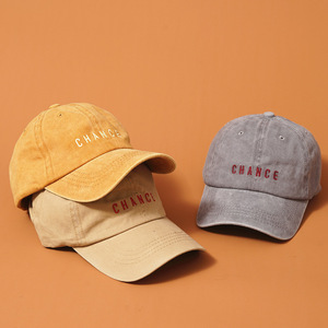 100% Cotto Men Summer Washed Baseball Cap Denim Caps Napback Male Glof Hat Basketball Hats For Men Women Letter Cap(China)