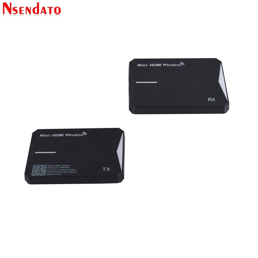 купить 60m 2.4GHz 5.8GHz Wireless Wif HDMI Extender 1080P HDMI Video Audio Wifi AV Transmitter Receiver With IR Romote for HDTV Monitor по цене 6639.96 рублей