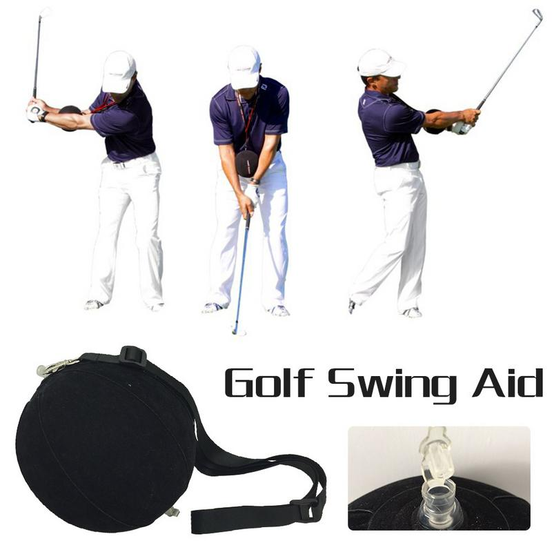 Brand Hot Golf Intelligent Impact Ball Golf Swing Trainer Aid Assist Posture Correctly Training Supplies For Combined Practice