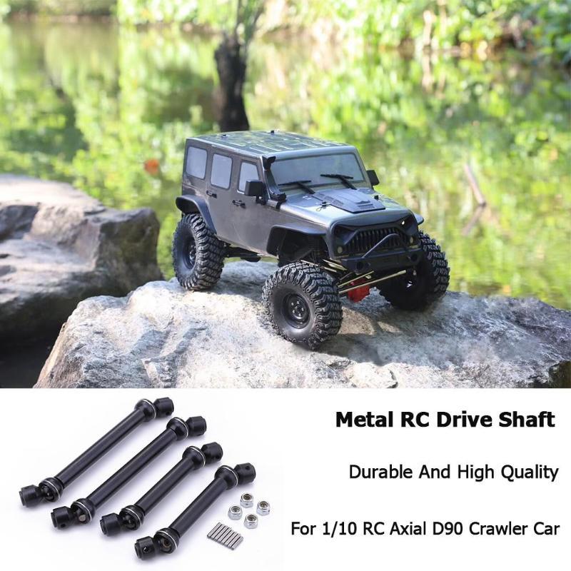 4pcs 112-152mm/90-120mm Universal Metal Drive Shaft for 1/10 RC Axial SCX10 CC01 RC4WD D90 D110 Crawler Car4pcs 112-152mm/90-120mm Universal Metal Drive Shaft for 1/10 RC Axial SCX10 CC01 RC4WD D90 D110 Crawler Car