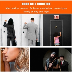 Image 5 - Mini HD Outdoor Electronic Peephole Camera Viewer 3.5in Indoor LCD Color Screen Visual 120°