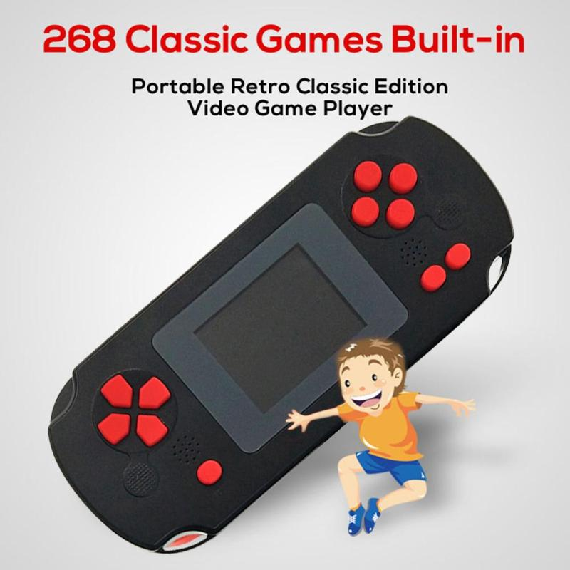 Portable Retro 2 inch TFT Display Game Console Children 8Bit Handheld Game Console Game Player for NES Built-in 268 Games Hot