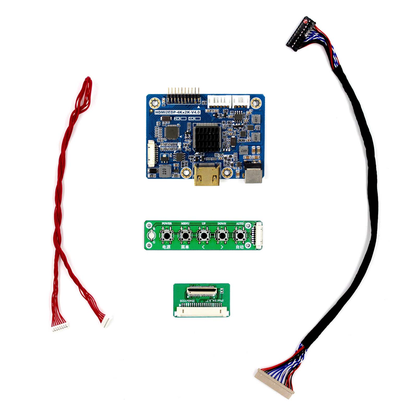 EDP Interface LP097QX1 LTL097QL01 2048X1536 for 9.7inch IPS LCD Screen VS-HDMI2EDP HDMI LCD Board vga hdmi lcd edp controller board led diy kit for lp116wh6 spa1 lp116wh6 spa2 11 6 inch edp 30 pins 1lane 1366x768 wled ips tft
