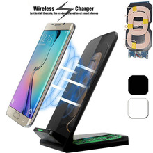 Qi Wireless Charger For iPhone XS Max XR X 8 Fast Holder stand Wireless charger For Samsung S9 S8 Note 8 Xiaomi mix 2s цена и фото