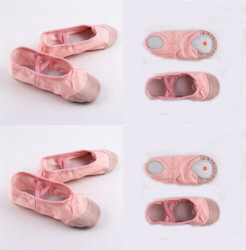 FOCUSNORM Baby Ballet Flats Shoes Dance Toe Shoes Toddler Professional Ladies Satin Point Shoes Silk Soft New Children Moccasin