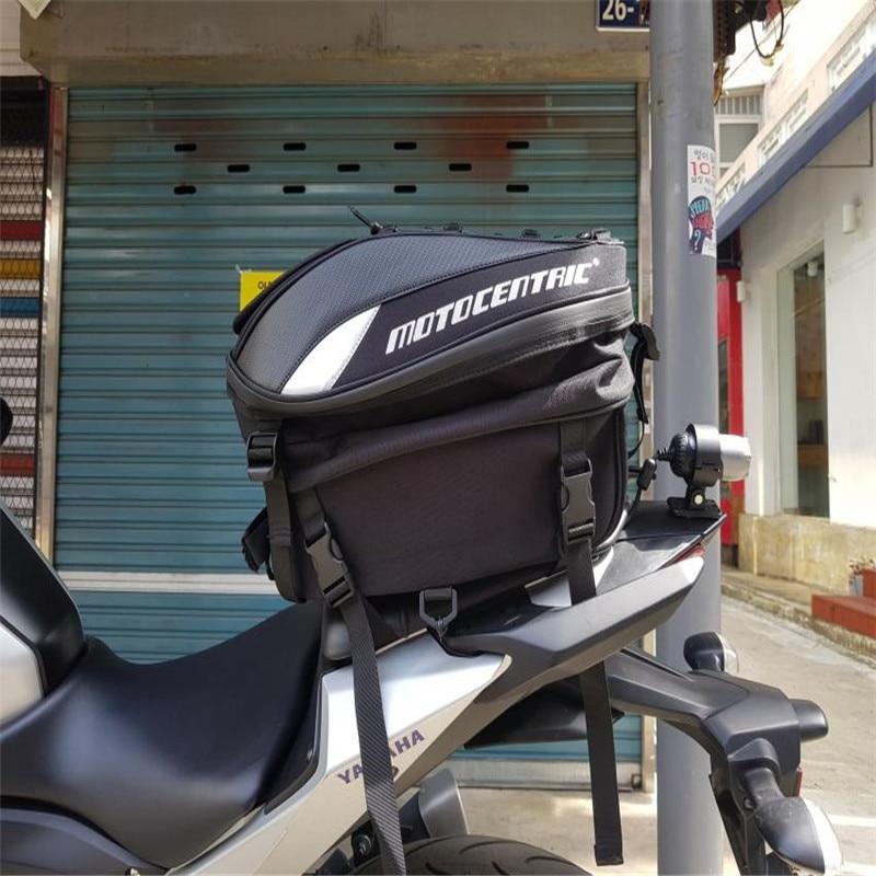 MOTOCENTRIC <font><b>Motorcycle</b></font> Sport Luggage Tail Bag <font><b>Large</b></font> Capacity Luggage