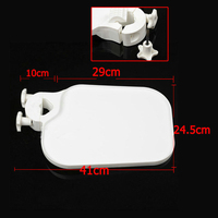 1Pc Dental Plastic Post Mounted Shelf Tray Table Dentistry Chair Accessories for Dental Chair unit