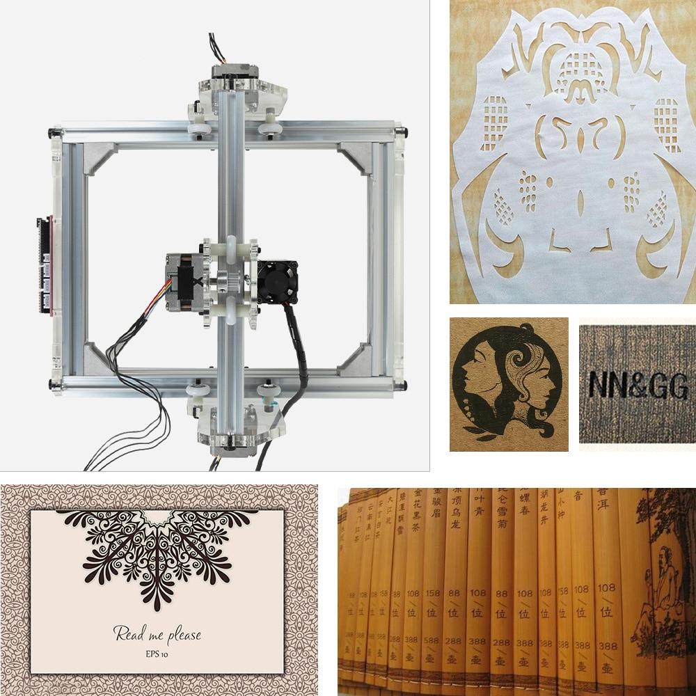 20X17 cm Laser Gravur Maschine DIY Kit Carving Instrument Kupferstecher Desktop Holz Router/Cutter/Drucker