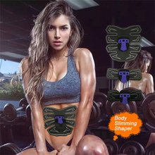 New EMS Hips Trainer Electric Muscle Stimulator Smart Fitness Abdominal Training Weight Loss Stickers Body Slimming