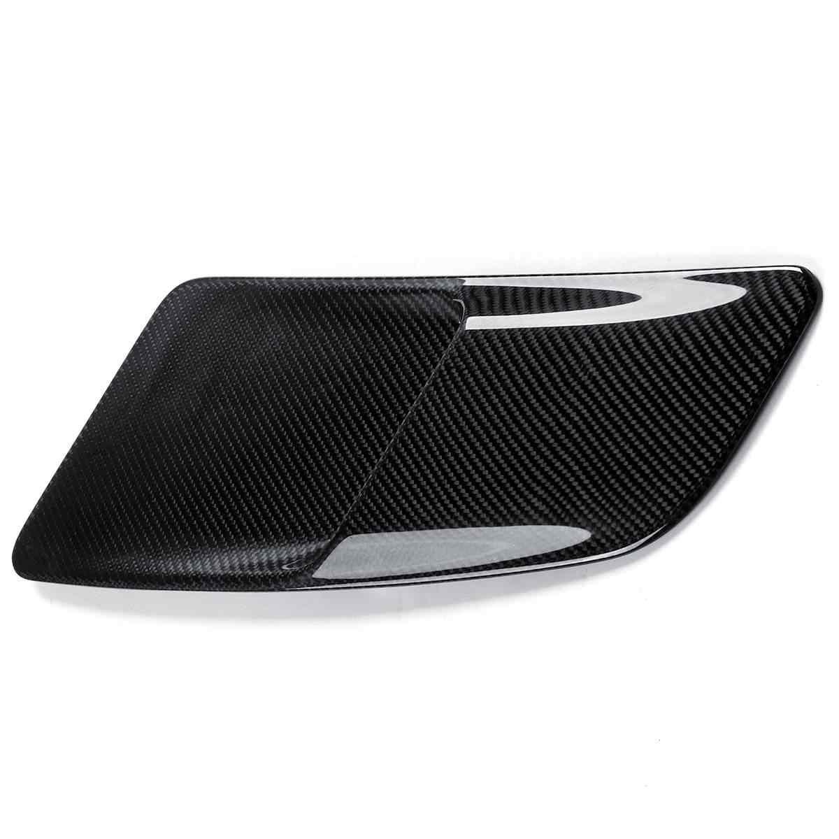 2x3 K Углеродное волокно Автомобильная Передняя вентиляция в капоте s для Ford для Mustang 2015-2017 автомобильный воздухозаборник капот с воздухозаборником вентиляция в капоте 5432