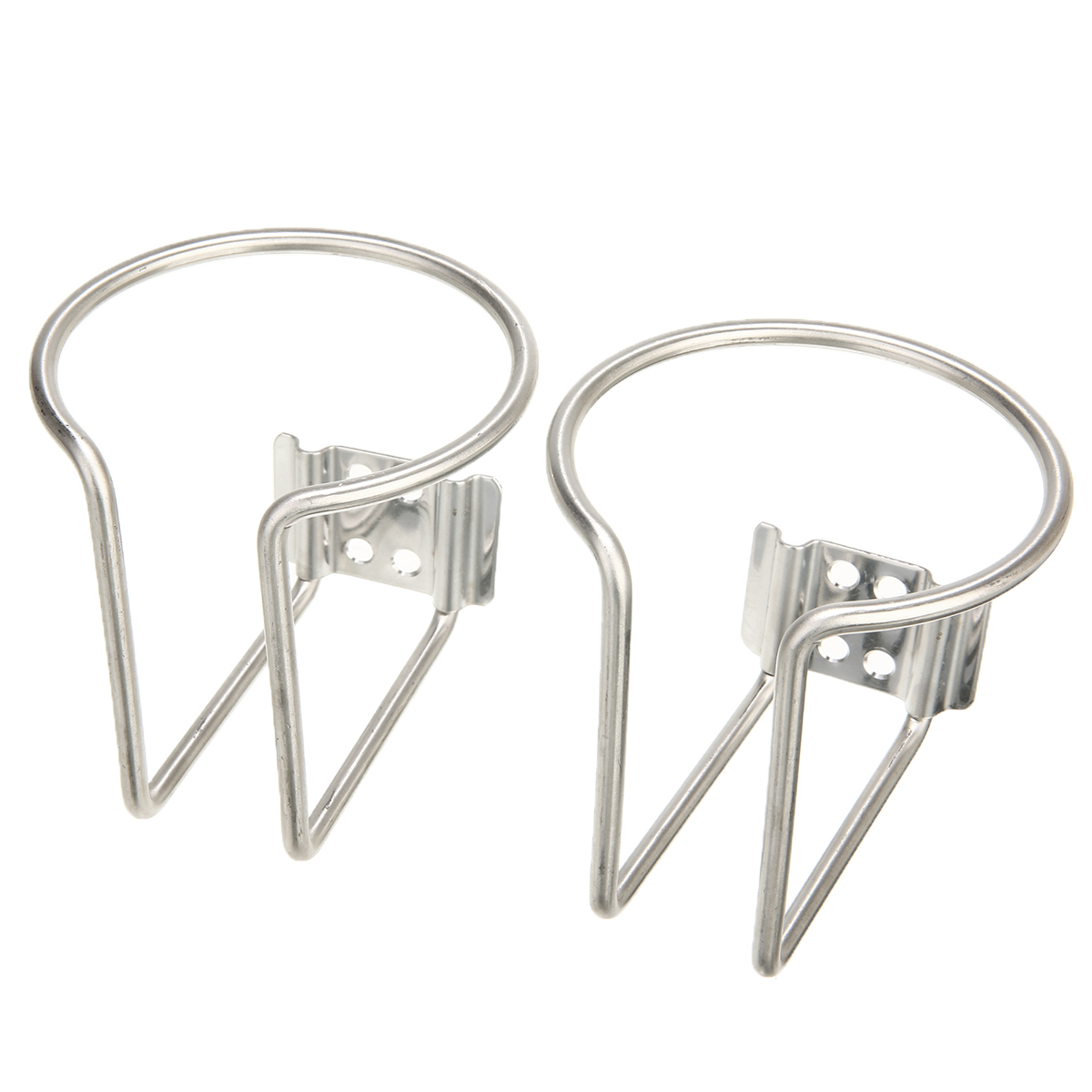 2pc Ring Cup Drink Holder Stainless Steel For Marine Boat Yacht Truck RV Drinking Cup Holder High Quality in Drinks Holders from Automobiles Motorcycles
