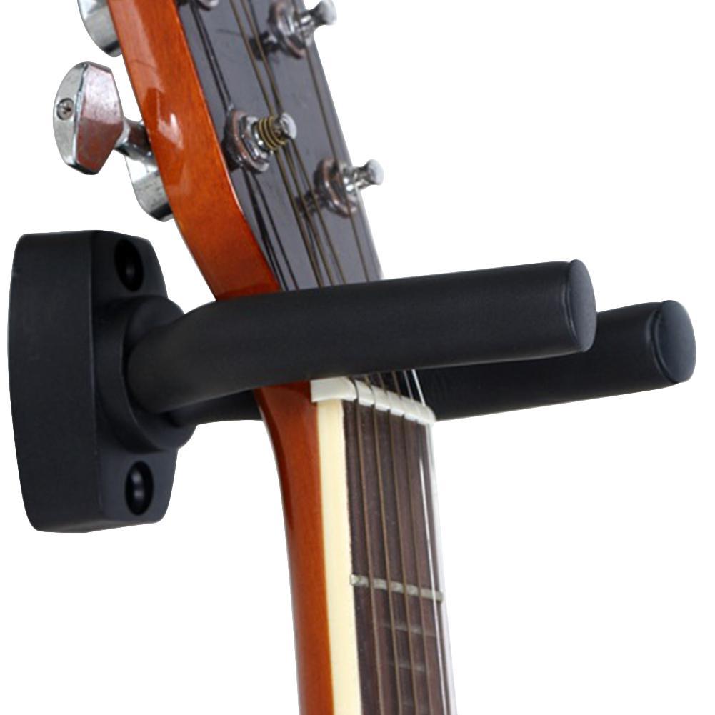 Guitar Hook Stand Metal Rack Bracket Wall Mount Hanger Guitarra Hook Holder Guitar Bass Ukulele Musical Instrument Accessories