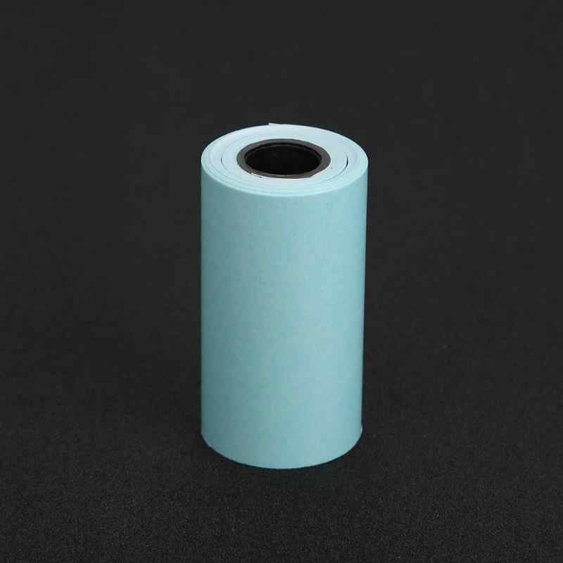 3 rotoli di Stampa Termica Adesivo di Carta Adesivo Carta Artistica e per hobby Foto di Carta per Mini Pocket Photo Printer Paperang
