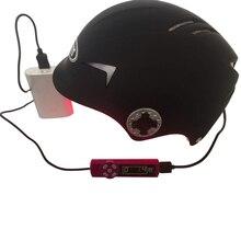 Шапка для роста волос, Улучшенный шлем с лазерным эффектом, для быстрого роста волос, для мужчин и женщин