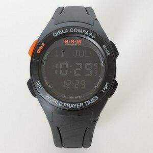 Image 3 - アザン時計とキブラコンパスと祈りため Musilm Adhan 時計イスラム防水品質保証