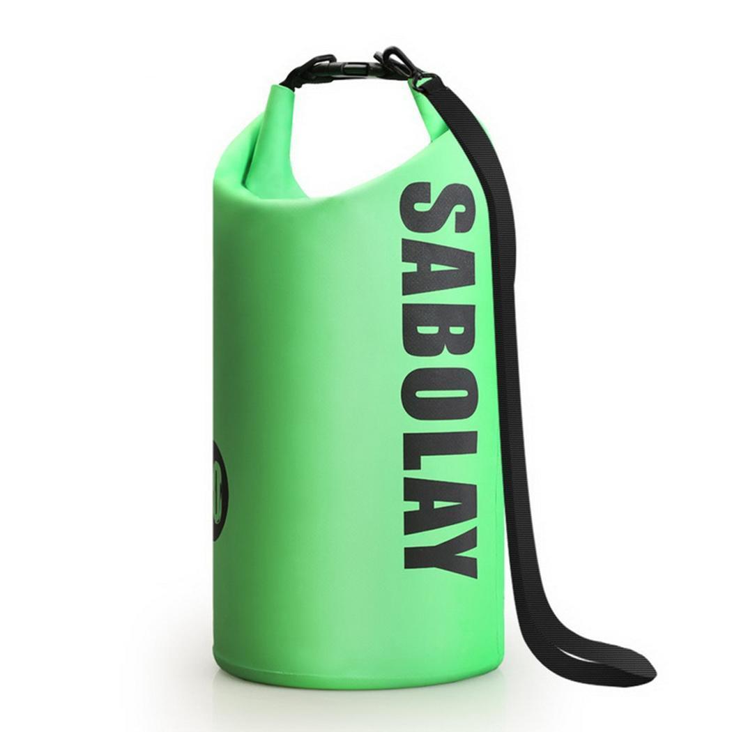 Black Backpack 10l Green Blue Dependable Outdoor Waterproof Beach Bag Snorkeling Swimming Drifting 0.35kg Yellow